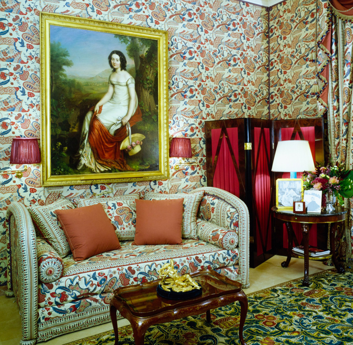 Credit: Interior Designer Francois Catroux; photographed by Marina Faust for Architectural Digest, January 1989